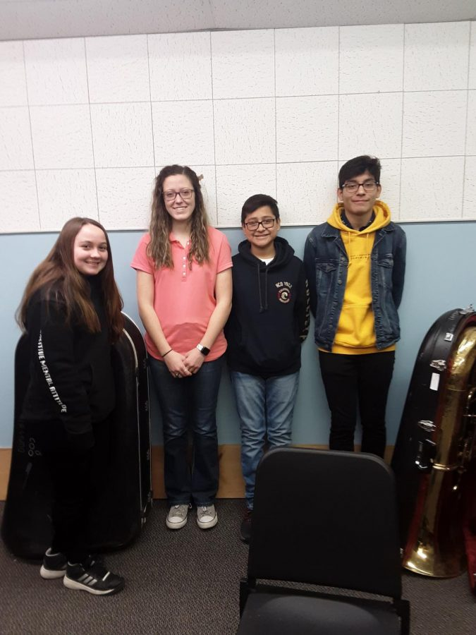 Demon band has success in Solo & Ensemble competition