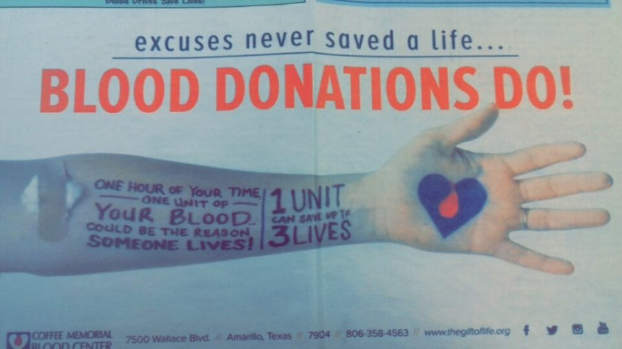 Blood drive coming soon